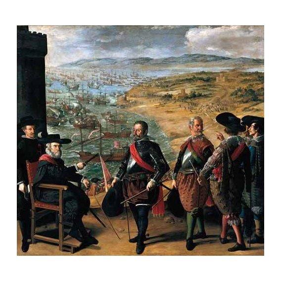 cuadros de retrato - Cuadro -Defensa de Cadiz contra los ingleses-
