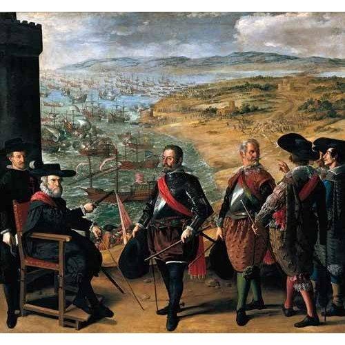 Cuadro -Defensa de Cadiz contra los ingleses-