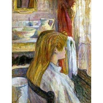- Cuadro -Mujer en la ventana- - Toulouse-Lautrec, Henri de
