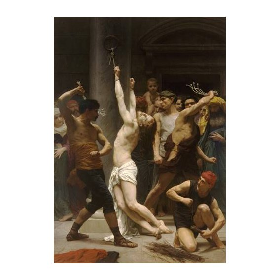 cuadros religiosos - Cuadro -Flagellation of Christ-