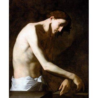 - Cuadro -La Flagelacion De Jesucristo- - Ribera, Jose de