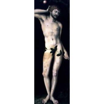 cuadros religiosos - Cuadro -Adan- - Cranach, Lucas