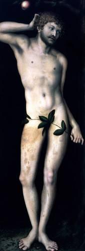 cuadros-religiosos - Cuadro -Adan- - Cranach, Lucas