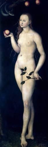 cuadros-religiosos - Cuadro -Eva- - Cranach, Lucas