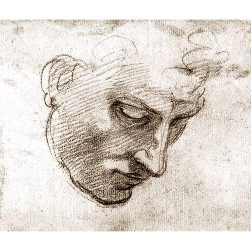 Cuadro -Studio di volto maschile-