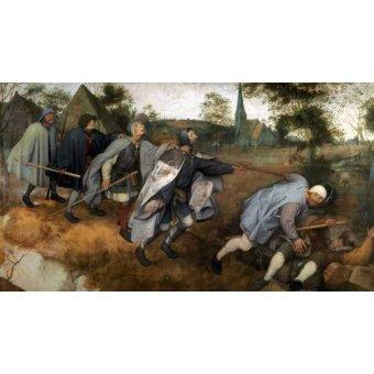 - Cuadro -La parabola de los ciegos- - Bruegel