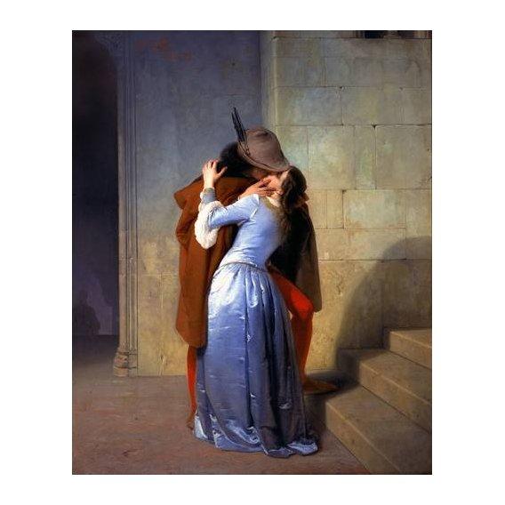 cuadros de retrato - Cuadro -The Kiss (El Beso)-