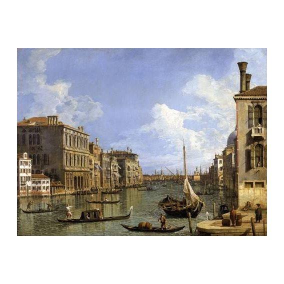 cuadros de marinas - Cuadro -Veduta del canal grande-