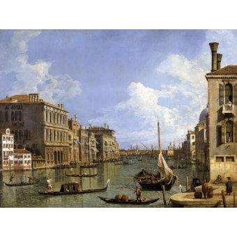 cuadros de marinas - Cuadro -Veduta del canal grande- - Canaletto, Giovanni A. Canal
