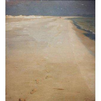 cuadros de marinas - Cuadro -South beach of Skagen- - Kroyer, Peder Severin