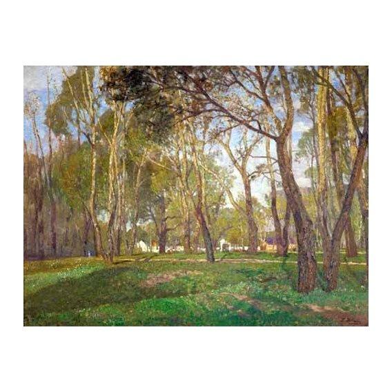 cuadros de paisajes - Cuadro -Prater Gardens in Vienna-