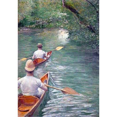 Cuadro -The Canoes, 1878-