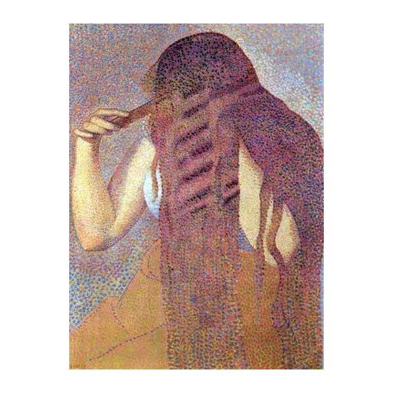 cuadros decorativos - Cuadro -La cabellera, 1892-