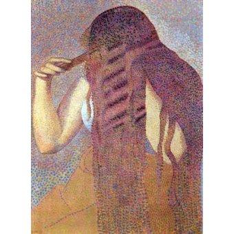 cuadros de retrato - Cuadro -La cabellera, 1892- - Cross, Henri Edmond