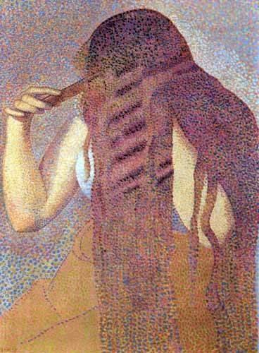 cuadros-decorativos - Cuadro -La cabellera, 1892- - Cross, Henri Edmond