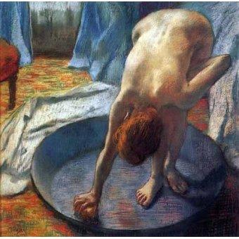 - Cuadro -La tina- - Degas, Edgar