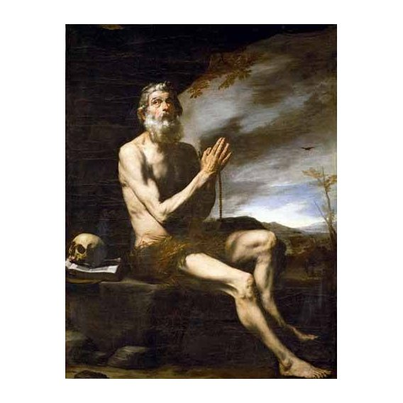 cuadros religiosos - Cuadro -San Pablo Ermitaño-