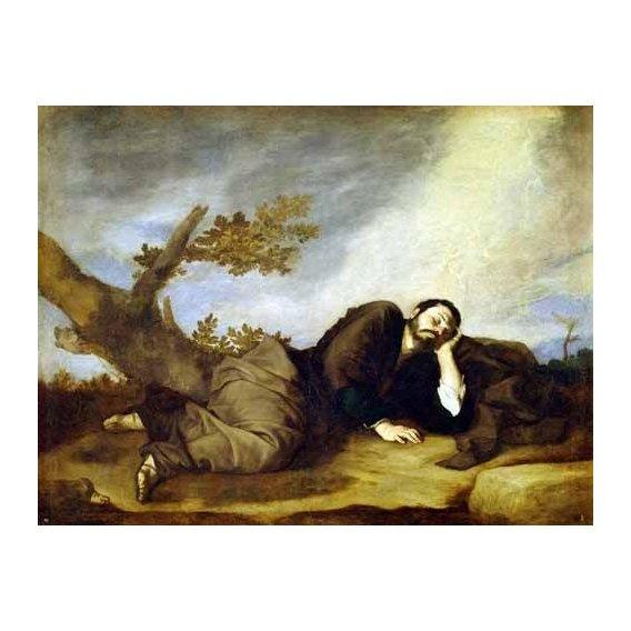 cuadros religiosos - Cuadro -El Sueño De Jacob-