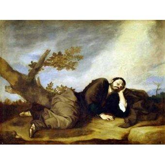 - Cuadro -El Sueño De Jacob- - Ribera, Jose de