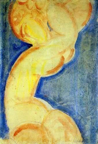 cuadros-decorativos - Cuadro -Cariátide-4- - Modigliani, Amedeo