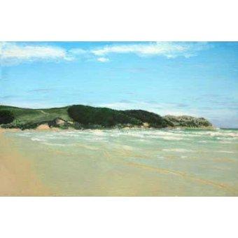 cuadros de marinas - Cuadro -Playa Cantabria- - Ricardo, Emilio