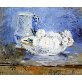 cuadros de bodegones - Cuadro -Margaritas- - Morisot, Berthe
