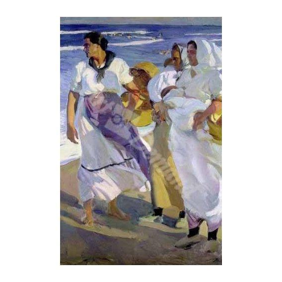 cuadros de retrato - Cuadro -Pescadoras valencianas, 1915-