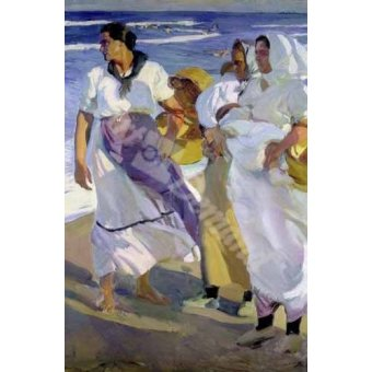 - Cuadro -Pescadoras valencianas, 1915- - Sorolla, Joaquin