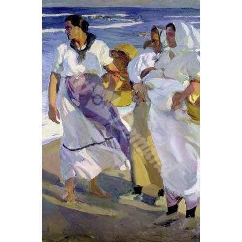 Cuadro -Pescadoras valencianas, 1915-