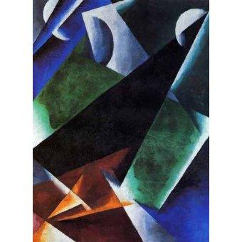 cuadros abstractos - Cuadro -Arquitect- - Popova, Lyubov Sergevna