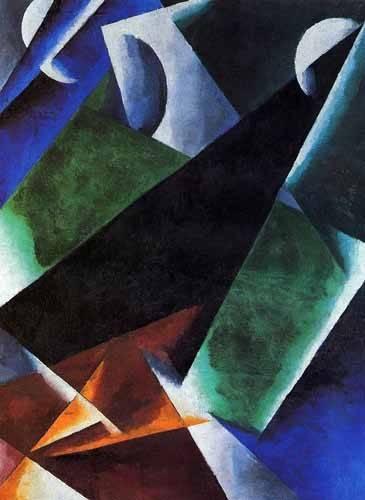 cuadros-abstractos - Cuadro -Arquitect- - Popova, Lyubov Sergevna