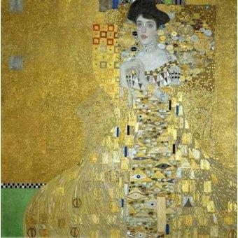 - Cuadro -Retrato de Adele Bloch-Bauer I- - Klimt, Gustav