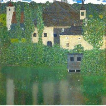 - Cuadro -Schloss Unterach am Attersee- - Klimt, Gustav