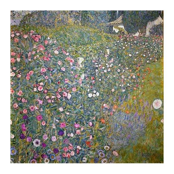 cuadros de paisajes - Cuadro -Jardin italiano-
