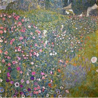 - Cuadro -Jardin italiano- - Klimt, Gustav