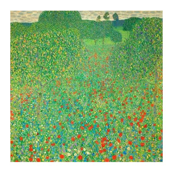 cuadros de paisajes - Cuadro -A field of poppies-