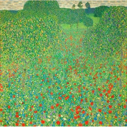 Cuadro -A field of poppies-