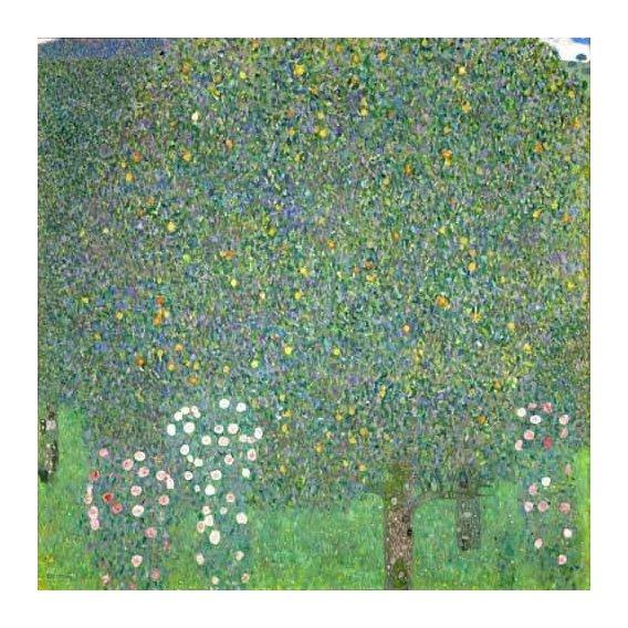 cuadros de paisajes - Cuadro -Roses under the trees, 1918-