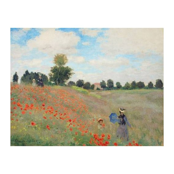 cuadros de paisajes - Cuadro -Wild Poppies, near Argenteuil-