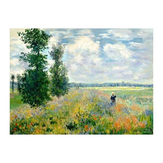 cuadros de paisajes - Cuadro -The Poppy Field -