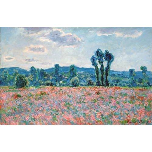 Cuadro -Poppy Field, 1887 (oil on canvas)-