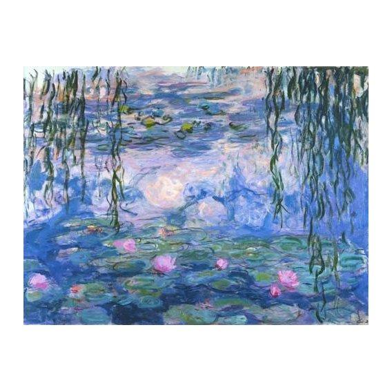 cuadros de paisajes - Cuadro -Waterlilies, 1916-19-