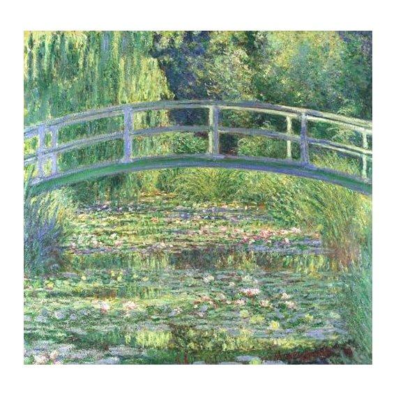 cuadros de paisajes - Cuadro -Waterlily Pond, 1899 (oil on canvas)-