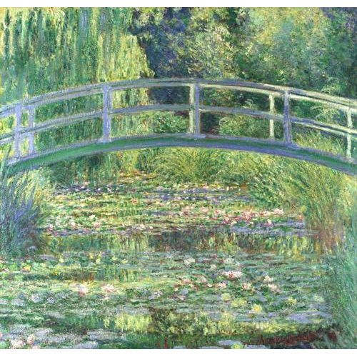 Cuadro -Waterlily Pond, 1899 (oil on canvas)-