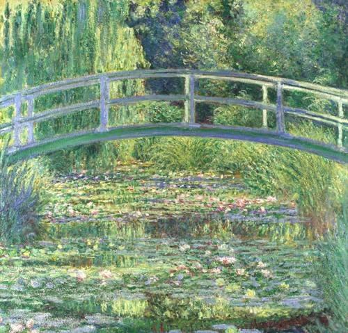 cuadros-de-paisajes - Cuadro -Waterlily Pond, 1899 (oil on canvas)- - Monet, Claude