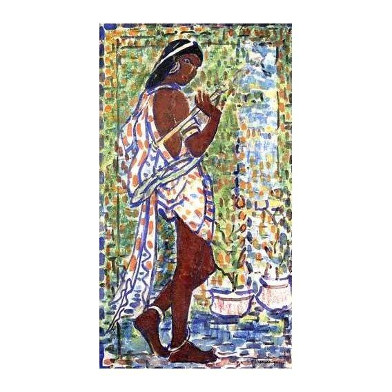 cuadros decorativos - Cuadro -Bailarina Hindú-