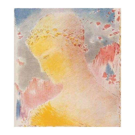 cuadros decorativos - Cuadro -Mujer dorada-