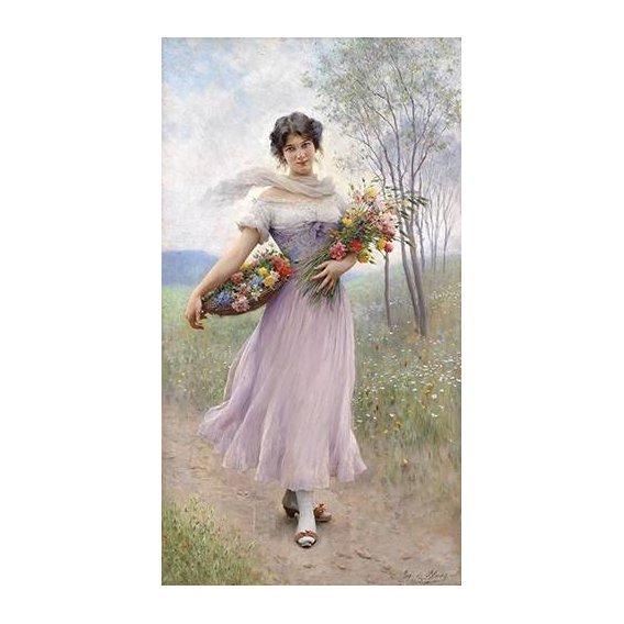 cuadros de retrato - Cuadro -Spring Flowers-