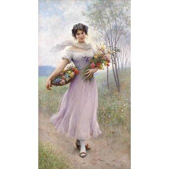cuadros de flores - Cuadro -Spring Flowers- - Blaas, Eugen Von