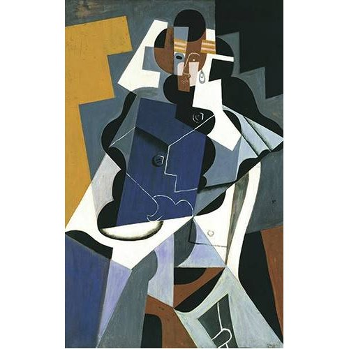 Cuadro -Figure of a Woman, 1917-